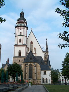 St. Thomas Church, Leipzig (Source: Wikimedia)