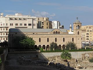 Saint George Greek Orthodox Cathedral church and museum in Beirut