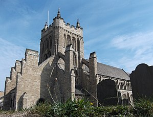 1200s in architecture - Image: St Hilda's Church Hartlepool