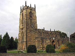Royston, South Yorkshire - Image: St Johns Royston