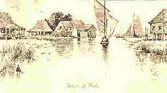 Saint Malo, Louisiana - Saint Malo Settlement as it appeared in Harper's Weekly, 1883