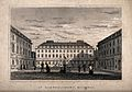 St Bartholomew's Hospital, London; the courtyard with severa Wellcome V0012994.jpg