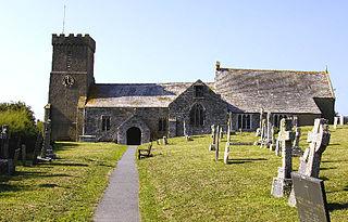 Church in Cornwall, England