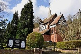 St Chads Church, Hopwas Church in Staffordshire, England