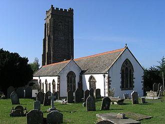 Decuman - The medieval parish church of Watchet in Somerset is dedicated to St Decuman