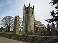 St Martin's church and the War Memorial, Osmaston - geograph.org.uk - 1223973.jpg