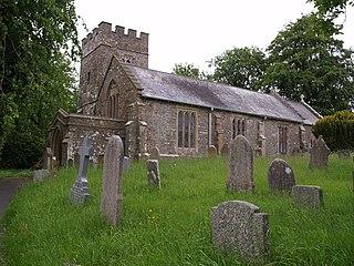 Wembworthy farm village in the United Kingdom