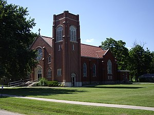 Florence, Kansas - St Patrick Catholic Church (2010)