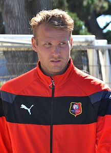 Stade rennais vs USM Alger, July 16th 2016 - Ola Toivonen 2.jpg
