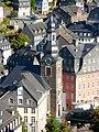Stadtkirche Monschau Ensemble Rurpartie.JPG