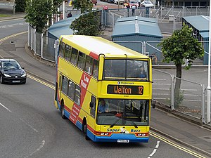 2004 Ingoldmells bus crash - A Volvo B7TL double-decker bus operated by Stagecoach in Lincolnshire, similar to the one involved in the accident.