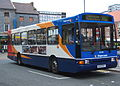 Stagecoach in Newcastle bus 20258 Volvo B10M Northern Counties Paladin barrel style R558 RPY in Newcastle.jpg
