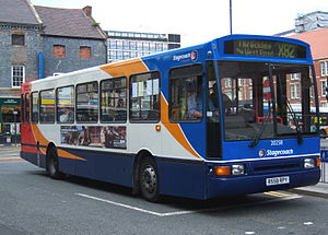 Northern Counties (bus manufacturer) - Stagecoach in Newcastle Paladin bodied Volvo B10M in May 2009