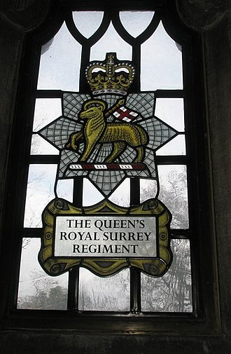 Queen's Royal Surrey Regiment - Memorial Chapel, Guildford Cathedral