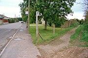 A bridleway in Stalbridge