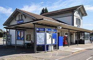 Stammheim railway station - Image: Stammheim Bahnhof 2011 09 16 15 00 02 Shift N