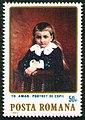 Stamp 1984 - Theodor Aman - Portret de copil.jpg