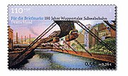 Stamp Germany 2001 MiNr2171 Wuppertaler Schwebebahn.jpg