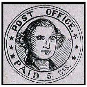New York Postmaster's Provisional - Millbury Postmaster's Provisional, 1846