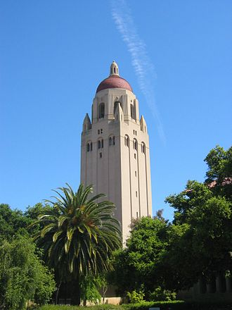 Stanford University Libraries - Hoover Tower, home of the Hoover Institution Library and Archives