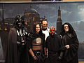 Star Wars Celebration V - the happy couple and friends after the commitment ceremony (4940421543).jpg