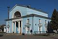 Staraya Russa train station in the summer period.jpg