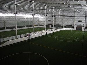 Indoor soccer fields, Starfire Sports Complex,...