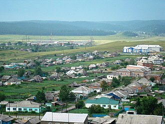 Belovsky District, Kemerovo Oblast - The settlement of Starobachaty is the most populous inhabited locality in Belovsky District