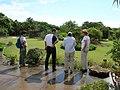 Starr-050407-6225-Ischaemum byrone-with Mach Joseph Kim and Lisa-Maui Nui Botanical Garden-Maui (24377303339).jpg