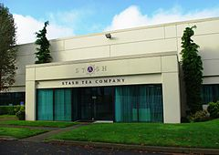 Stash Tea Company headquarters - Tigard, Oregon.JPG