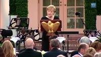 File:State Dinner for German Chancellor Merkel.webm