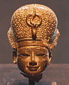 Statue Head of Thutmose IV Wearing Blue Crown - 18th Dynasty - ÄS 6770.jpg