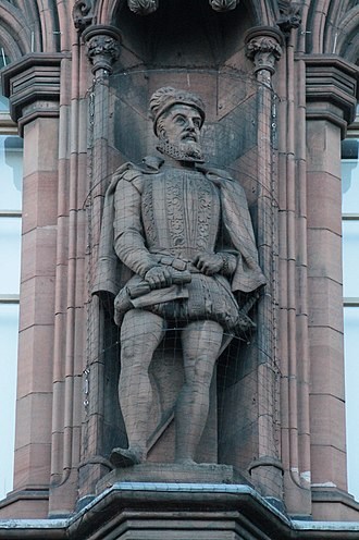James Stewart, 1st Earl of Moray - Statue of James Stewart, 1st Earl of Moray, Scottish National Portrait Gallery