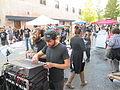 Steampunk Makers Fair Lafayette 2013 VineSt Soundboard.JPG