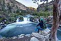 Steelhead Falls on the Deschutes River (21853383348).jpg