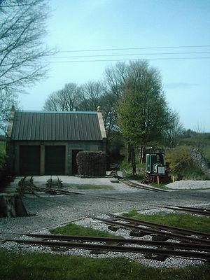 Steeple Grange Light Railway - Image: Steeple Grange Light Railway Derbyshire