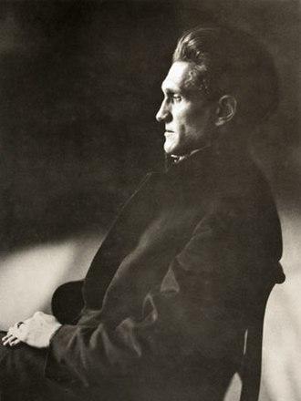 Stefan George - Stefan George, 1910.