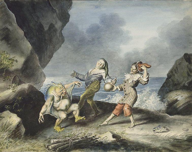 File:Stephano, Trinculo and Caliban dancing.jpg