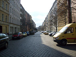 Stephanstraße in Moabit.