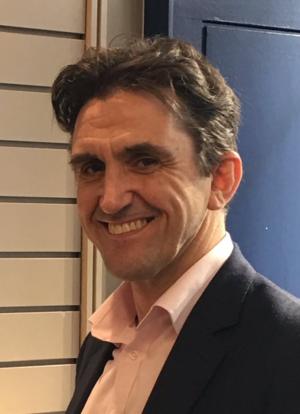 Stephen McGann - Stephen McGann at a book signing in Dublin, Ireland, July 2017
