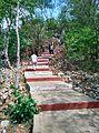 Steps to Bhakta Kannappa Hill temple Srikalahasti.jpg
