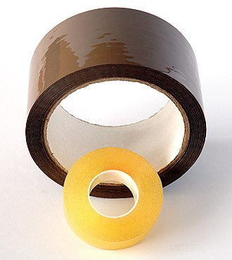 Pressure-sensitive tape - Two rolls of adhesive tape