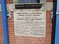 Stirchley Library, Bournville Lane, Stirchley - foundation stone (8852217500).jpg