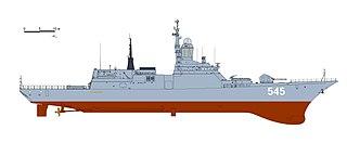 Russian corvette <i>Hero of the Russian Federation Aldar Tsydenzhapov</i> Steregushchiy-class corvette of the Russian Navy