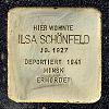 Stolperst alt fechenheim 129 schoenfeld ilsa