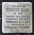 Stolperstein Annenstr 3 (Mitte) Norbert Glatt.jpg