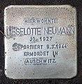 Stolperstein Argentinische Allee 4 (Zehld) Lieselotte Neumann.jpg