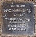Stolperstein Arnstadt Ried 11-Max Friedmann.JPG