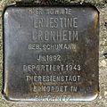 Stolperstein Dieffenbachstr 49 (Kreuzb) Ernestine Cronheim.jpg