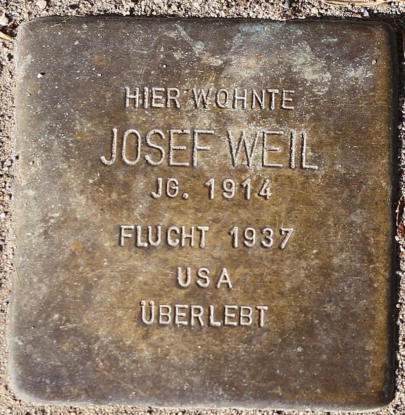Stolperstein Josef Weil.jpg